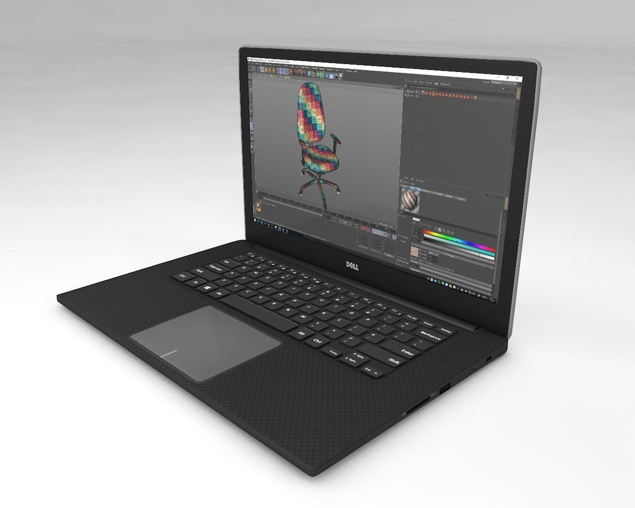 UV Mapped Laptop
