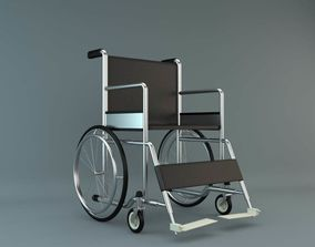 3D hospital Wheel Chair