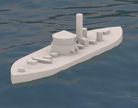 3D print model print USS Monitor 1862