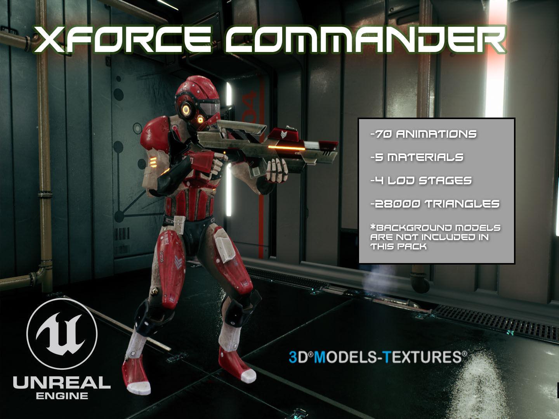 XForce Commander for UNREAL | 3D model