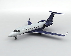 3D model Embraer Legacy 500 Aircraft