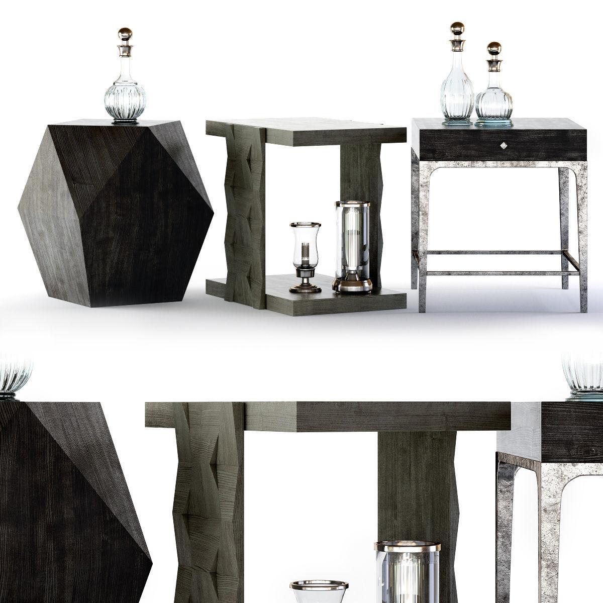 Phenomenal Bernhardt Linea End Tables 3D Model Theyellowbook Wood Chair Design Ideas Theyellowbookinfo