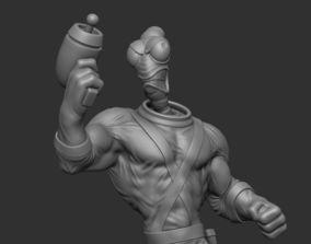 hero Earthworm Jim 3D print model