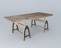 Metropolitan the table houses the world 3D model