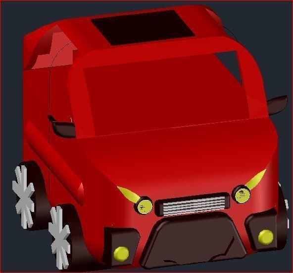 Animated 3d Dwg Car Model Autocad Car Cgtrader
