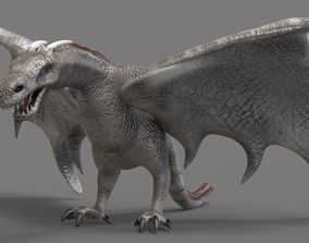 The Dragon 3D model animated