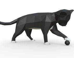 cat figure 3 3D printable model