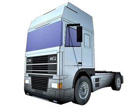 Truck Tractor 3D asset