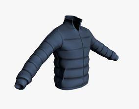 3D model Winter Jacket