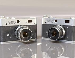 3D asset Realistic Vintage Camera