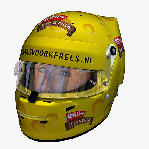 tom coronel cheese helmet 3d model obj mtl 3ds fbx c4d ma mb dae 1