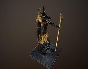 Anubis statue 3D model