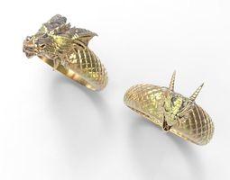 3D print model Dragon ring
