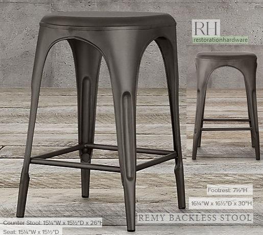 Surprising Barstool Remy Backless 3D Model Spiritservingveterans Wood Chair Design Ideas Spiritservingveteransorg