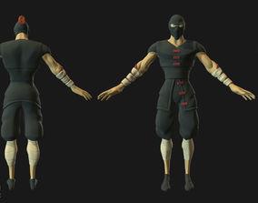 3D asset Shinobi