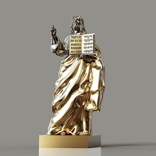 jesus christianity orthodoxy 3d model obj mtl 3ds stl 3dm 1