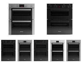 3D Bosch built-in ovens 7pcs pack