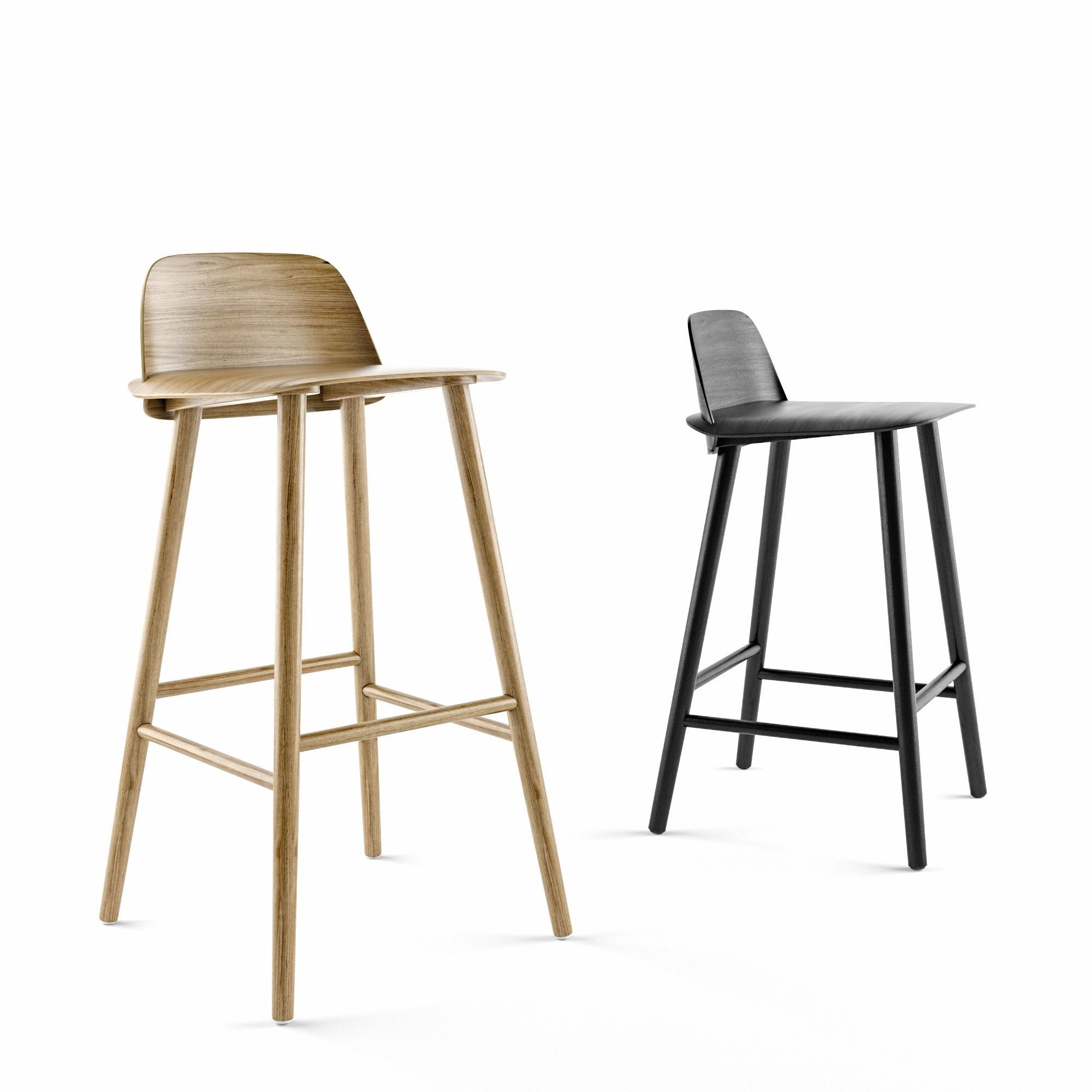 MUUTO Nerd Counter stool and Bar Stool