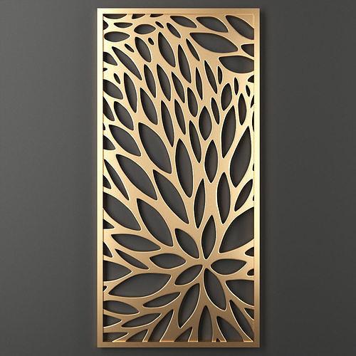 decorative panel 52 3d model max obj mtl fbx mat 1