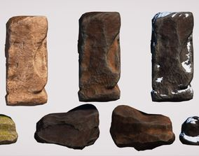 Realistic Rock Pack Volume 1 3D asset