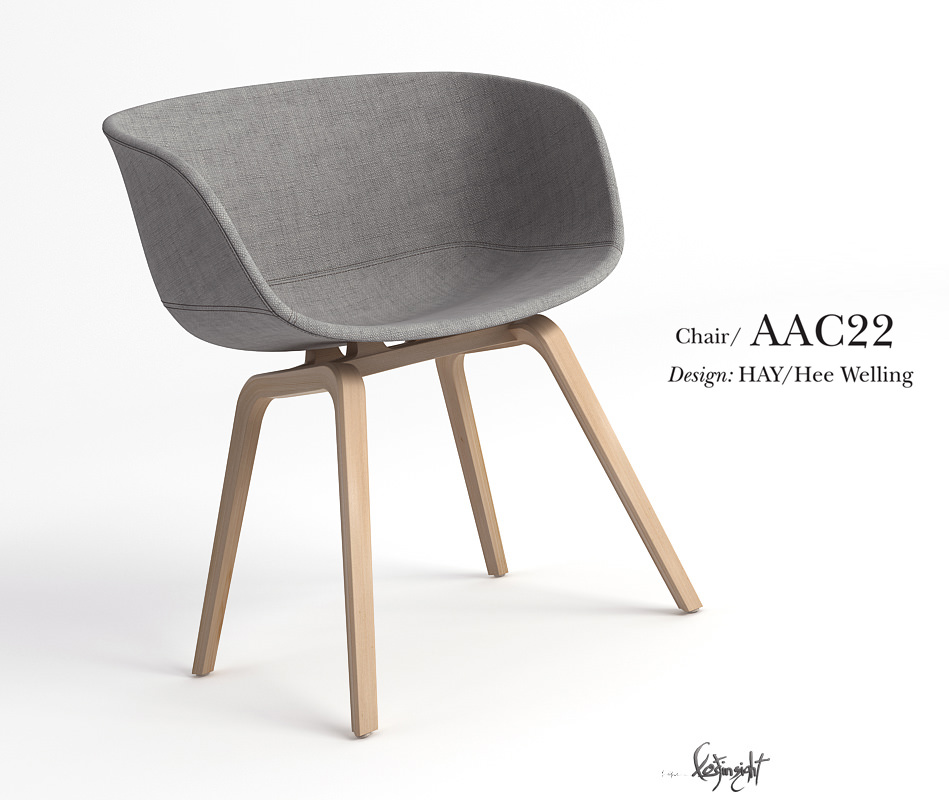 aac22 chair 3d model max 1 chair aac22