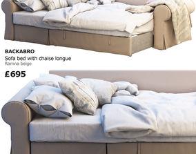 3D model Ikea Backabro 3