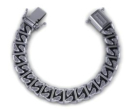chain bracelets 07 fashion 3D printable model