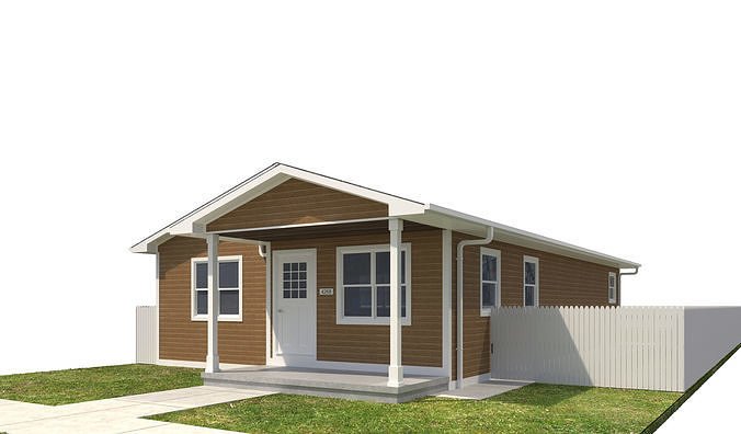house-047 3d model max obj mtl 3ds fbx dwg 1