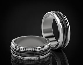 3D printable model Stylish rings for men and women in 2