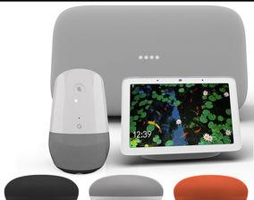 Google Smart Speaker 2018 Collection 3D model