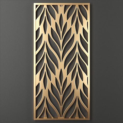 decorative panel 58 3d model max obj mtl fbx mat 1