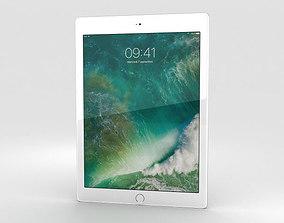 Apple iPad 9-7-inch Silver 3D