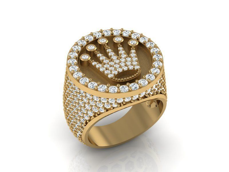 Rolex men ring size 8