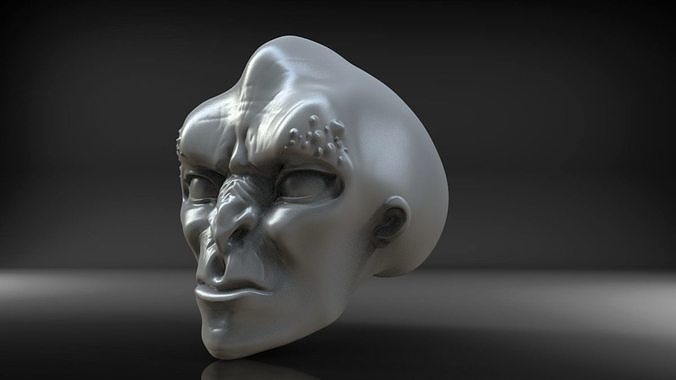 alienhead 3d