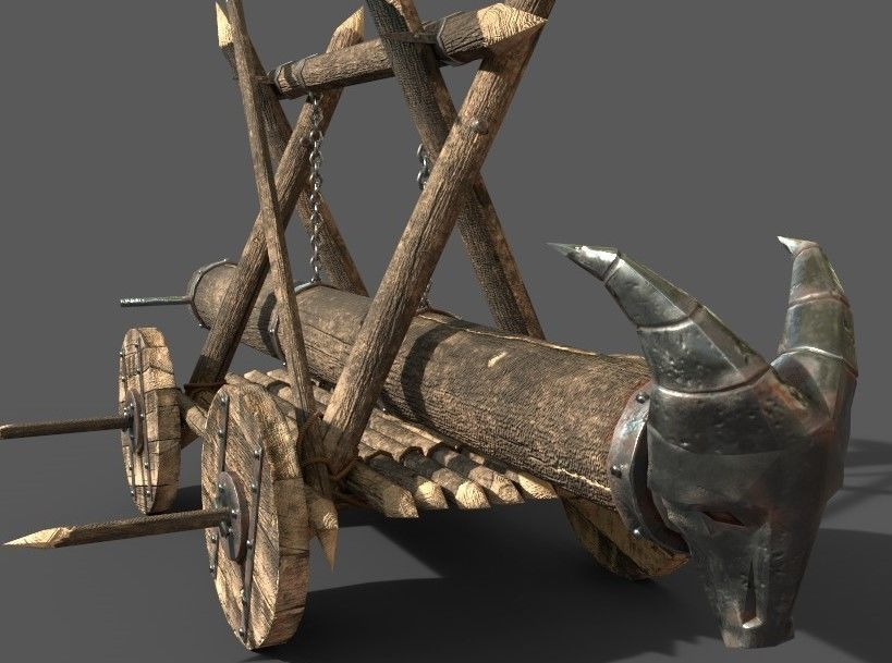 Battering Ram-poly 3D model