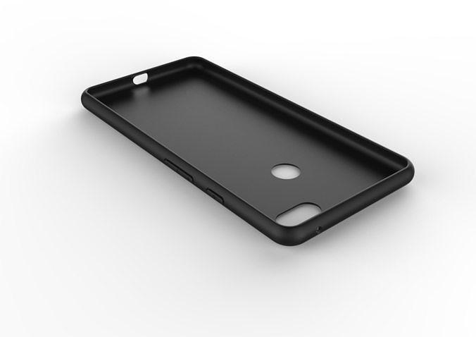 google pixel 3xl black case customizable design 3d model 3d model obj mtl 3ds fbx stl skp ige igs iges 1
