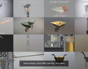 3D construction Game Ready Tools PBR Low Poly