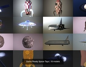 Game Ready Space Toys 3D model