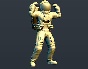 Jolly Astronaut 3D print model