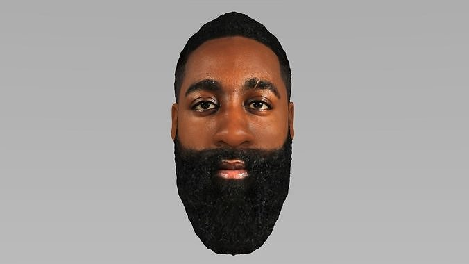 james harden 3d model obj mtl fbx stl wrl wrz 1