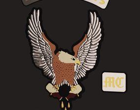 Booze banners Badge 3D print model
