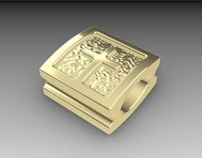 Shamballa bracelet lock 3D printable model