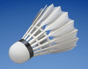 Shuttlecock 3D model sports