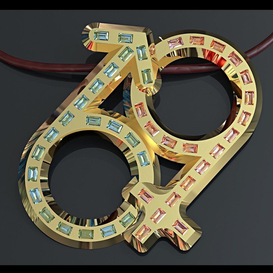 Kinky 69 pendant