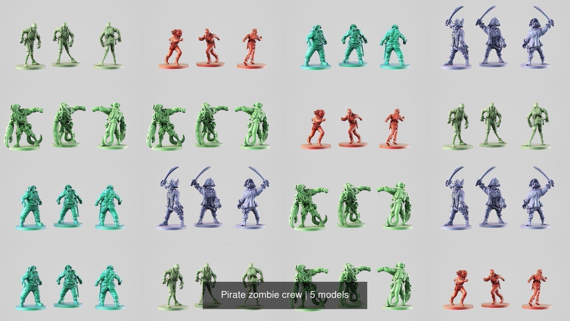 Pirate zombie crew