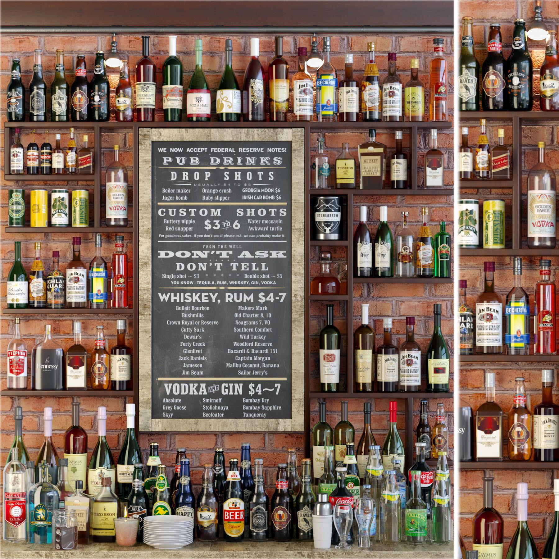 Big Alcoholic Bar