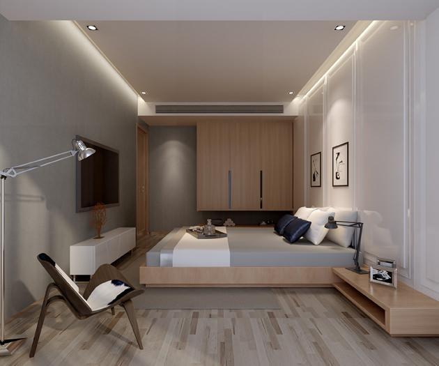 modern flat interior photo real 3D | CGTrader