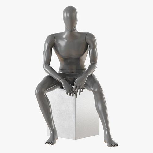 faceless male mannequin 10 3d model max obj mtl 3ds fbx 1