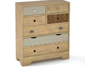 3D Valgautr Chest of Drawers
