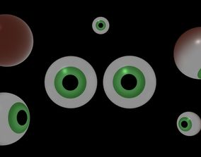 Eye LOW POLY 3D model